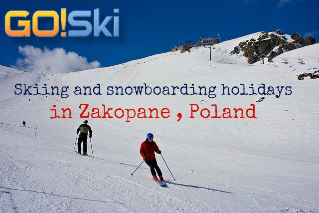 Skiing in Zakopane, Poland